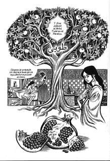 Página de 'Habibi', de Craig Thompson