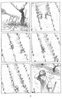 Página de 'Los ignorantes', de Étienne Davodeau