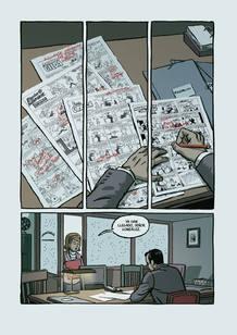 Página de 'El inverno del dibujante', de Paco Roca
