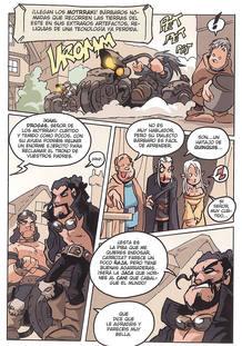 Página de 'Juego de poltronas' de Nacho Fernández