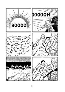 Página de 'La mano del diablo', de Brais Rodríguez