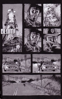 Página de 'Los muertos vivientes', de Robert Kirkman y Tony Moore