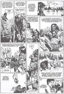 Página de 'Nippur', de Robin Wood y Alberto Salinas