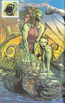 Página de 'La Odisea', de Roy Thomas y Greg Tocchini