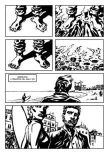Página de 'La ola perfecta', de Ramón de España y Sagar