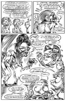 Página de 'Otra puta novela gráfica', de Jorge de Juan
