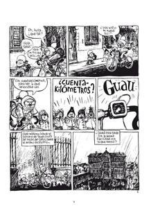Página de 'El pequeño Christian', de Blutch