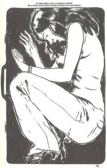 Página de 'Plagio. El secuestro de Melina', de Hernán Migoya y Joan Marín