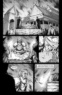 Página de 'Ragnarok', de Víctor Santos y Pere Pérez
