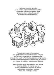Página de 'Simiocracia, crónica de la gran resaca económica', de Aleix Saló
