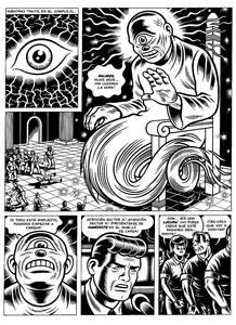 Página de 'Skin deep', de Charles Burns