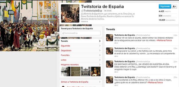 Página de Twistoria de España