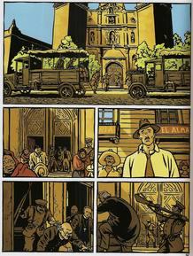 Página de 'Un verano insolente', de Lapière y Pellejero