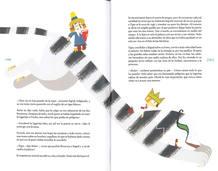 Páginas de 'El secreto del huevo azul', de Catalina González Vilar y Tomás Hijo