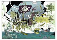 Páginas de 'Secretos arcanos', de Ángel A. Svoboda