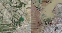 Pakistán antes y después de las inundaciones
