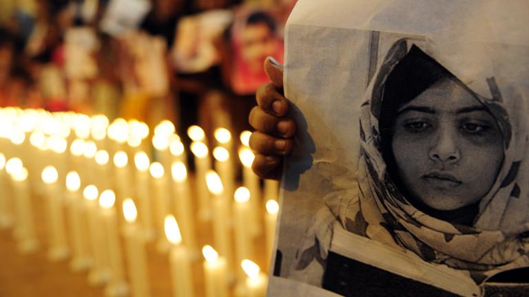 En Pakistán hoy ha sido el día de Malala