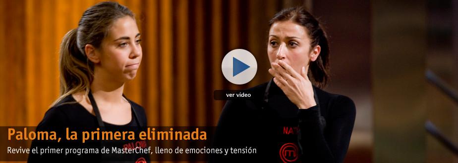 Paloma, la primera expulsada de MasterChef