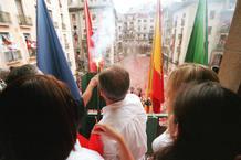 Pamplona da el pistoletazo de salida a los Sanfermines con el chupinazo