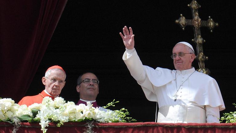 El papa pide que se superen las divergencias en Corea y la paz para Siria