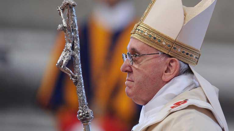 El papa espera que Venezuela supere las dificultades