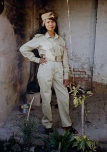 La paquistaní Asia Bibi en una foto proporcionada por su familia