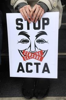 Muchos sectores civiles han mostrado su rechazo al acuerdo ACTA