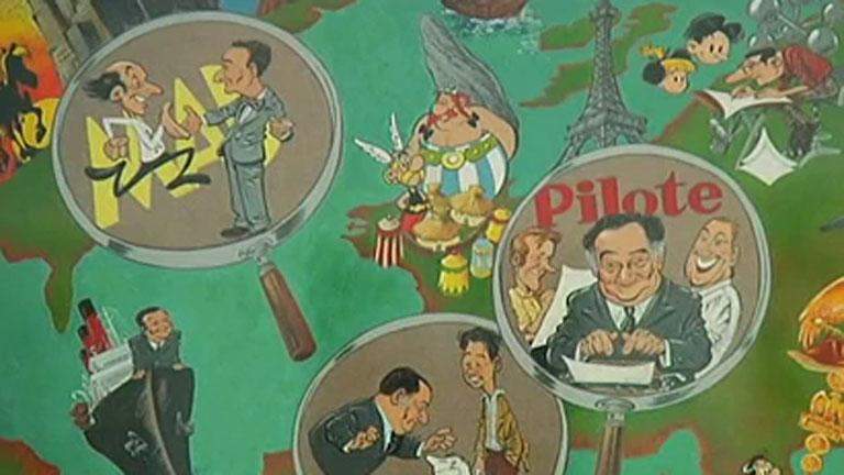 París acoge una muestra del fenómeno de la inmigración a través del cómic