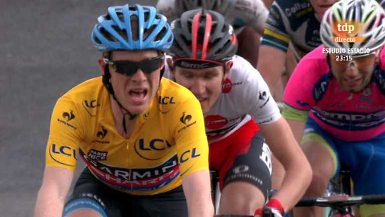Ciclismo - París-Niza - 5ª etapa: Chateauneuf-Du-Pape - La Montagne de Lure