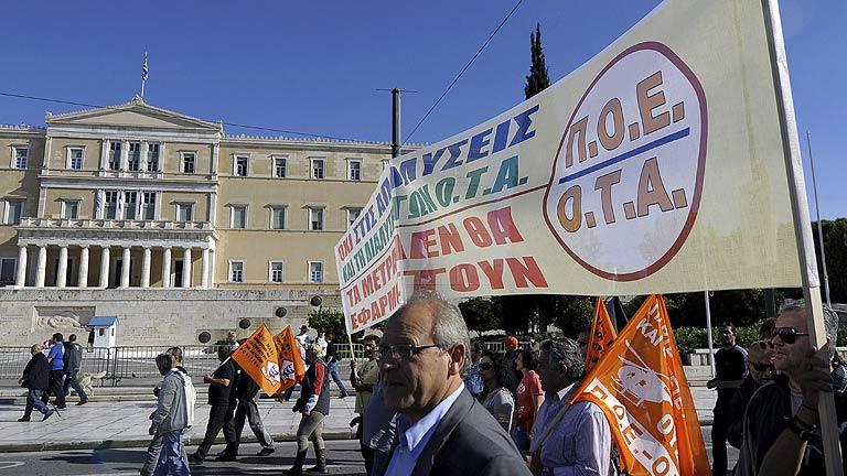 El Parlamento griego vota hoy los presupuestos de 2013 con un recorte de 9.500 millones