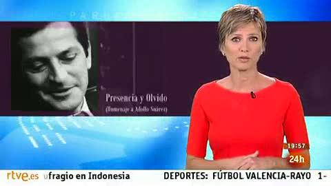 Ver vídeo  'Parlamento - El reportaje - Homenaje a Adolfo Suárez - 28/09/2013'