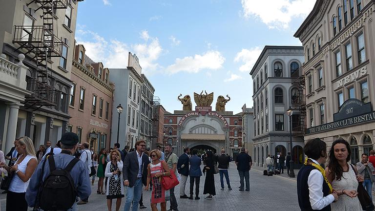 Un parque temático en Roma intenta revivir el esplendor de Cinecittá