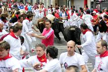 Séptimo encierro de San Fermín 2011