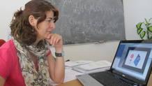 María José Herrero Solans, una de las tres catedráticas de Física Teórica de toda España