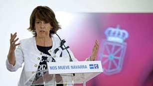 Ver vídeo  'Partido socialista y UPN tratan de reconducir la crisis en el Gobierno de Navarra'