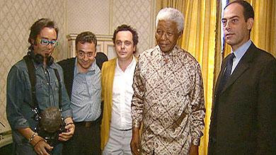 Un paseo con Mandela