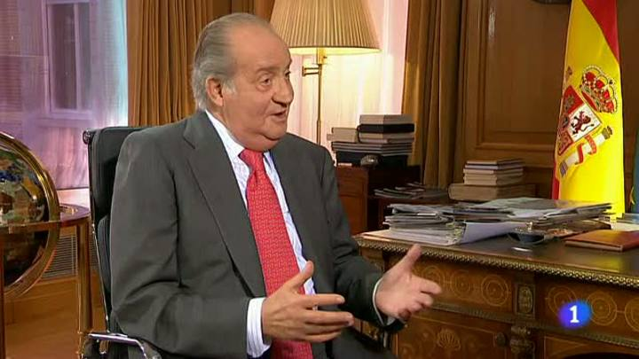 """La """"virtud"""" y el """"defecto"""" de los españoles es la """"pasión"""", según afirma el rey Juan Carlos"""
