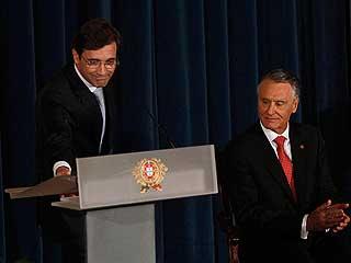 Ver vídeo  'Passos Coello toma posesión como primer ministro en Portugal'