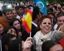 Pastora Soler desata la locura en las calles de Bakú