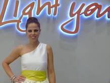 Pastora Soler después de su actuación