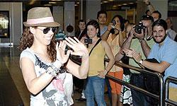 Pastora Soler llega a Madrid emocionada tras su paso por Eurovisión