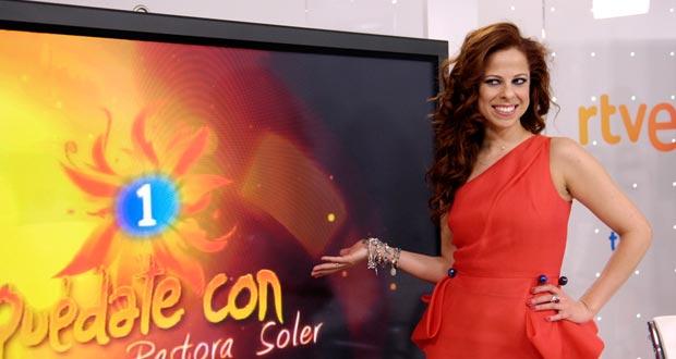 "Pastora Soler representa a España en Eurovisión 2012 con la canción ""Quédate conmigo"""