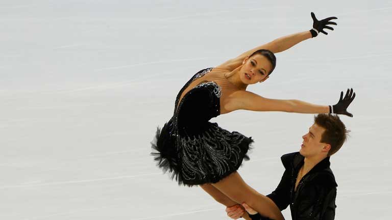 Resultado de imagen de patinaje artistico sobre hielo parejas