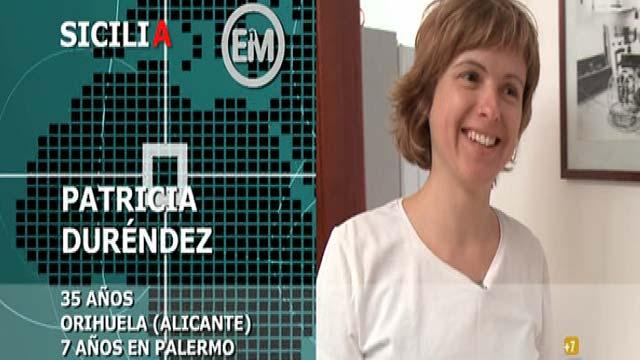 Españoles en el mundo - Sicilia - Patricia