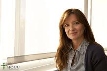 Patrizia Bressanello, psicooncológa de la Asociación Española contra el Cáncer.