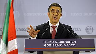 Ver vídeo  'Patxi López anuncia el adelanto de las elecciones vascas al 21 de octubre'