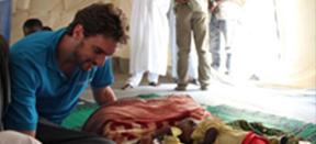 """Pau Gasol, desde el Chad: """"Queda mucho por hacer aquí"""""""