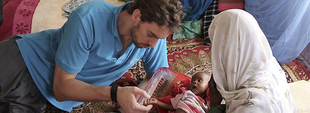 """Pau Gasol pide ayuda para el Sahel desde el Chad: """"Queda mucho por hacer aquí"""""""