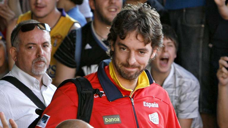 Pau Gasol ser&aacute; el abanderado espa&ntilde;ol