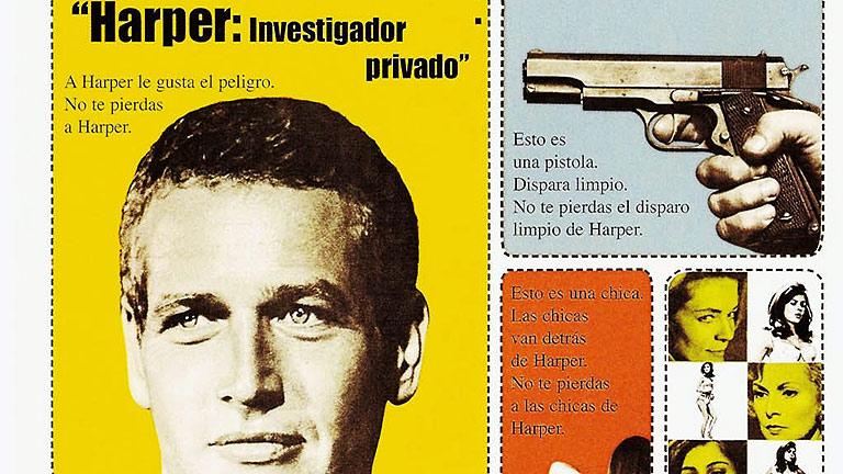 Paul Newman es 'Harper, investigador privado' , en Clásicos de La 1